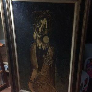 Original Oil on Canvas Signed M. Baschaer